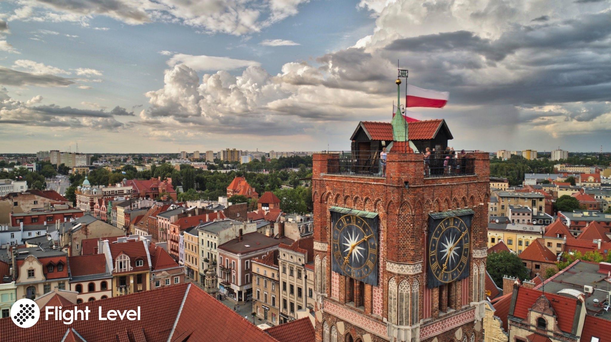 filmowanie z drona Łódź