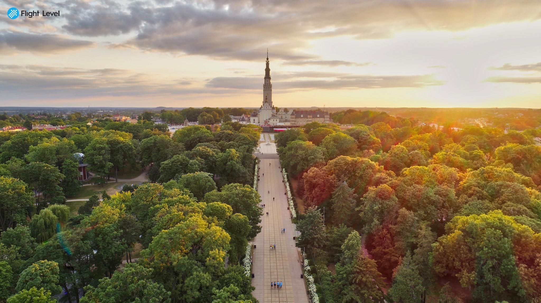 filmowanie z powietrza Łódź
